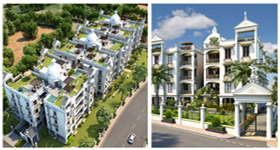 Trezure Enclave - Luxurious apartments  at Thaltej Shilaj